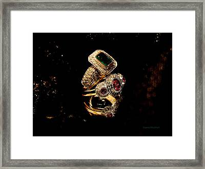 Ringing Framed Print by Donna Blackhall