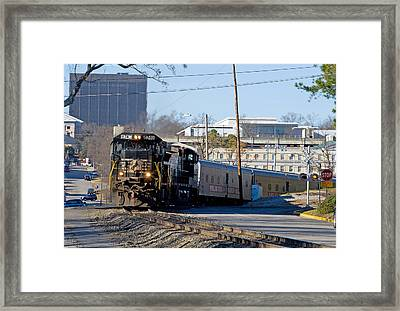 Ringling Brothers And Barnum And Bailey Circus Train Framed Print