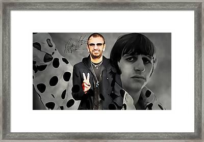 Ringo Star Framed Print