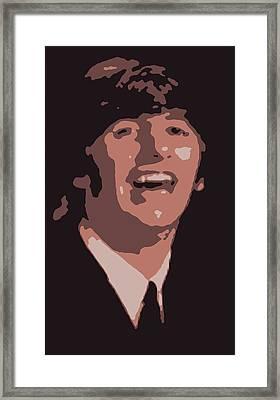 Ringo Starr On The Cover Of Life Magazine 1964 Framed Print