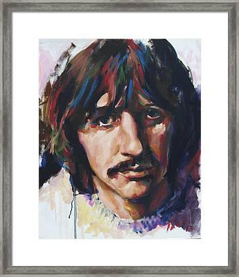 Ringo Framed Print by Tachi Pintor
