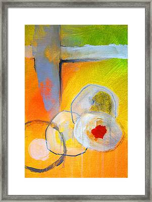 Rings Abstract Framed Print