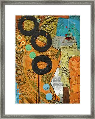 Rings Framed Print by Corporate Art Task Force