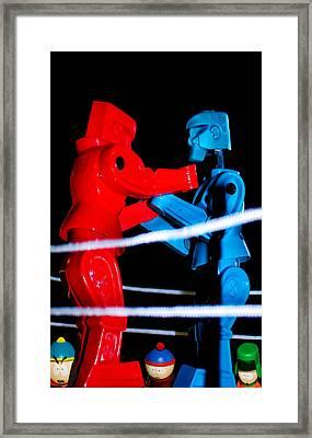 Ringside Framed Print