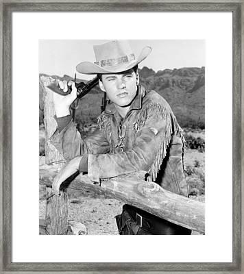 Rio Bravo, Ricky Nelson, 1959 Framed Print