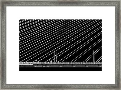 Rio Bridge Framed Print