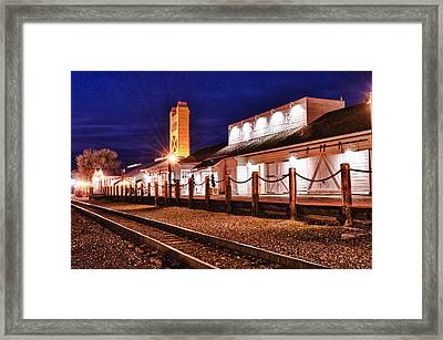 Rio City Cafe Framed Print by Robert Rus