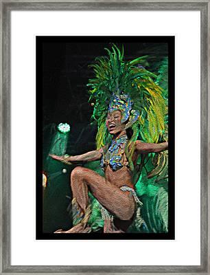 Rio Dancer I B  Framed Print