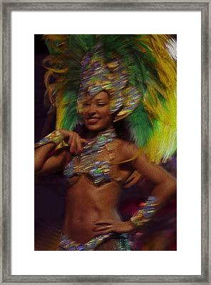 Rio Dancer IIi A Framed Print