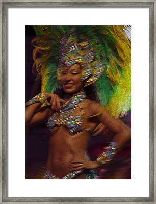 Rio Dancer IIi B Framed Print