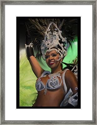 Rio Dancer Iv B Framed Print