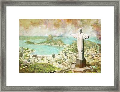 Rio De Janeiro Framed Print by Catf