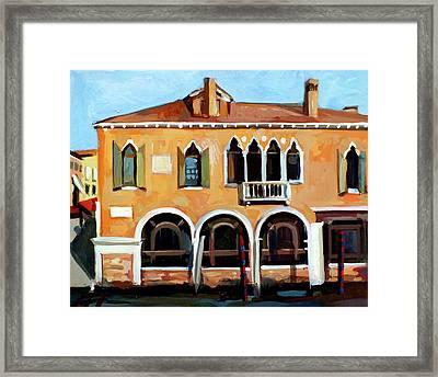 Rio Del Malcanton Framed Print