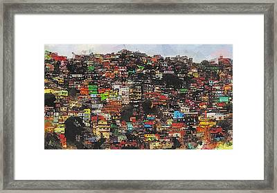 Rio Framed Print by Galen Valle