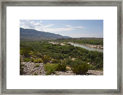 Rio Grand River Framed Print by Gary Grayson