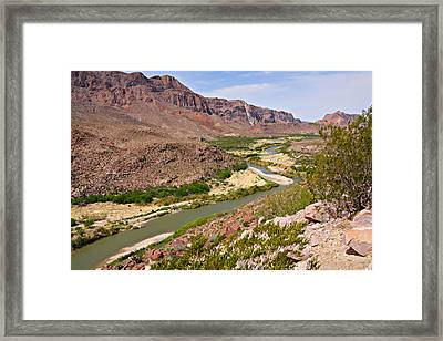 Rio Grande Framed Print by Christine Till