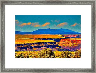 Rio Grande Gorge Lv Framed Print
