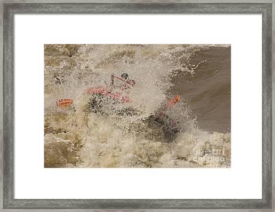 Rio Grande Rafting Framed Print by Steven Ralser