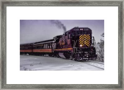 Rio Grande Scenic Railroad Framed Print by Ellen Heaverlo
