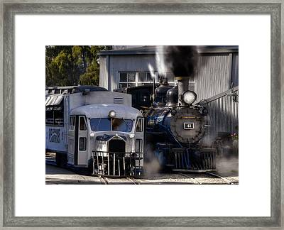 Rio Grande Southern 41 And Galloping Goose 3 Framed Print by Ken Smith