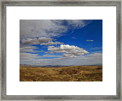 Rio Grande Valley Afternoon Framed Print by Feva  Fotos