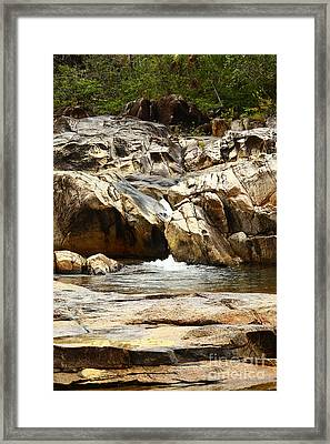 Rio On Pools Framed Print