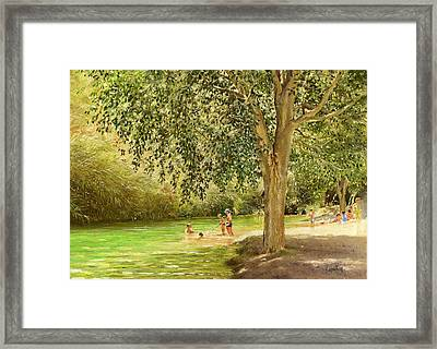 Rio Toba Framed Print by Margaret Merry