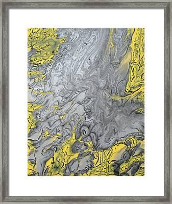 Rip Current Framed Print