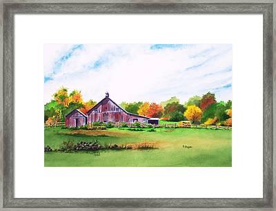Rip Manning's Barn Framed Print