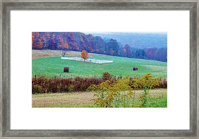 Rip On The Countryside Framed Print by Sherry Brant