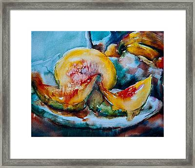 Ripe And Juicy Framed Print by Jani Freimann