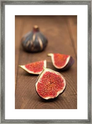 Ripe Figs Framed Print