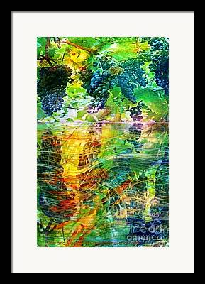 Home Deco Wine Paintings Framed Prints