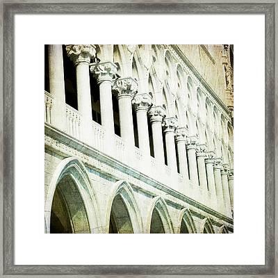 Ripeti - Venice Framed Print