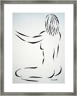 Ripose 2 Framed Print by Pamela Allegretto