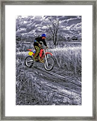 Rippin' Framed Print by Steve Harrington