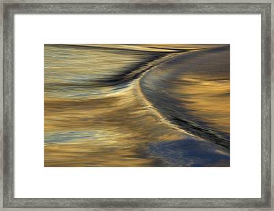 Ripple #1  Mg_6679 Framed Print