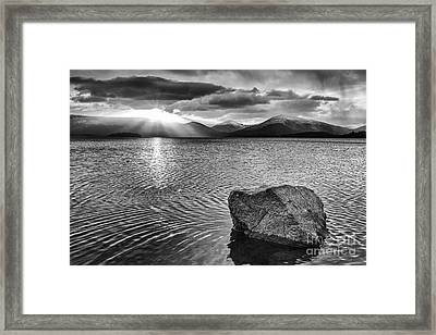 Ripple Effect Framed Print by John Farnan