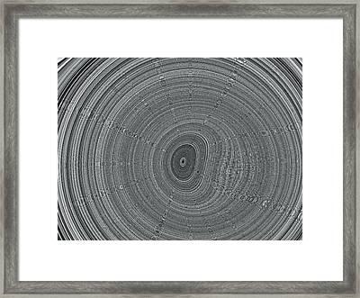 Ripple Framed Print by Pharris Art