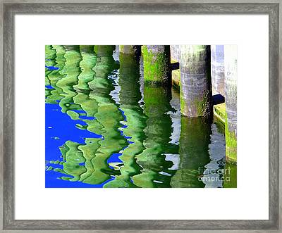 Ripple Reflections Framed Print by Ed Weidman
