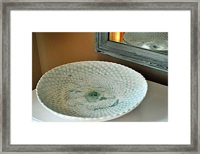 Ripple Tide Framed Print by Amanda  Sanford