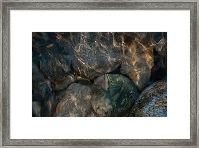 Rippled By The Light Framed Print