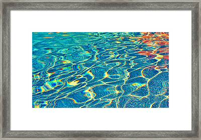 Rippled Distortion Framed Print
