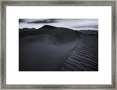 Rippled Dune Framed Print