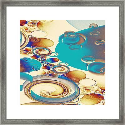 Ripples Framed Print by Anastasiya Malakhova