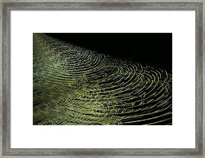 Ripples Framed Print by Doug Morgan