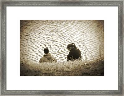 Ripples In Time Framed Print by Brian Wallace