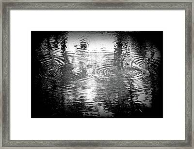 Framed Print featuring the photograph Ripples by Michael Dohnalek