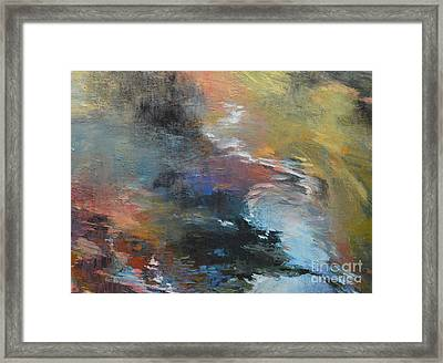 Ripples No. 2a Framed Print by Melody Cleary