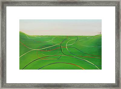 Ripples Of Life 1 Framed Print by Tim Mullaney